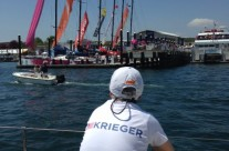 Viewing the VOR boats